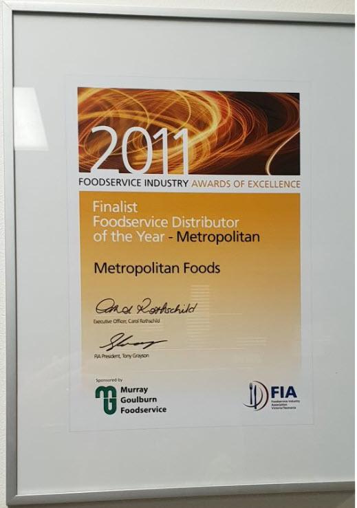 Metropolitan Foods_European Foods_Melbourne_Foodservice Industry